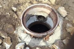 Sinking Manhole Before 2