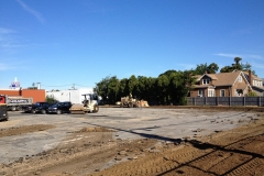 Grind up Mix in Place Reuse Pavement as Base for New Parking Lot